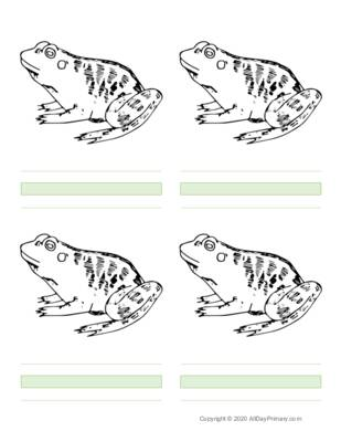 Parts of a Frog Writing Sheets.pdf