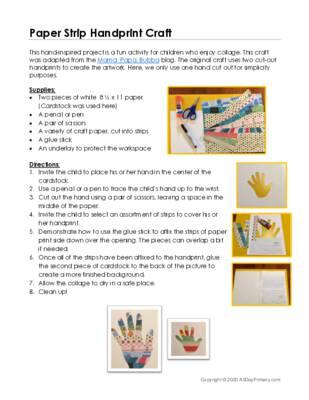 Paper Strip Handprint Craft.pdf