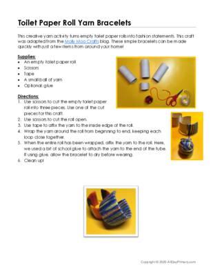 Toilet Paper Roll Yarn Bracelets.pdf