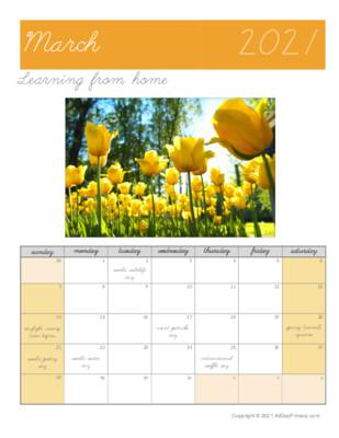March 2021 Learning From Home Calendar.pdf