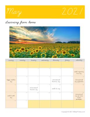 May 2021 Learning From Home Calendar.pdf