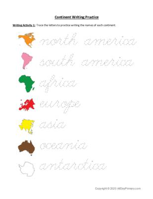 Continent Writing Activity 1.pdf