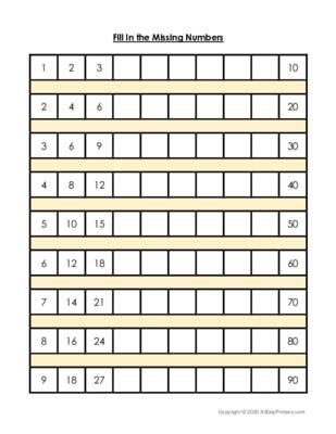 Fill In the Missing Numbers-Challenge.pdf