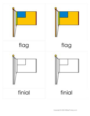 Parts of a Flag Three Part Cards.pdf
