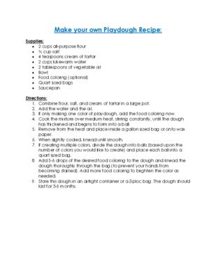 Make your own Playdough Recipe.pdf