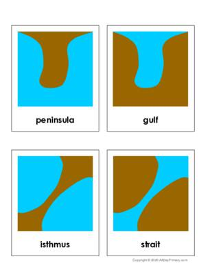 Set 1 Land and Water Forms 3 Part Cards.pdf