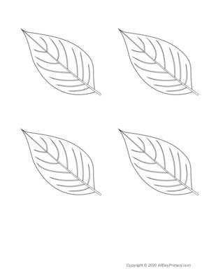 Parts of a Leaf Coloring Sheet.pdf