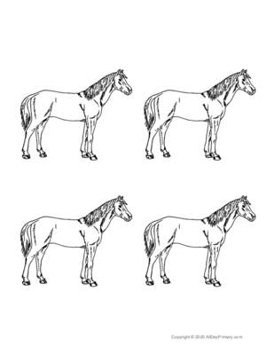 Parts of a Horse Coloring Sheet.pdf