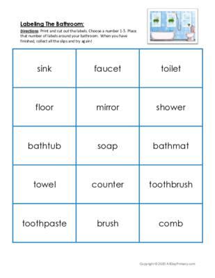 Labeling The Bathroom.pdf