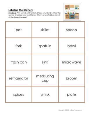 Labeling The Kitchen.pdf