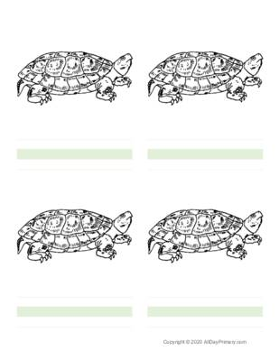 Parts of a Turtle Writing Sheets.pdf