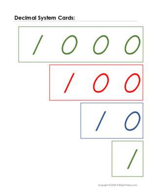 Decimal System Cards.pdf